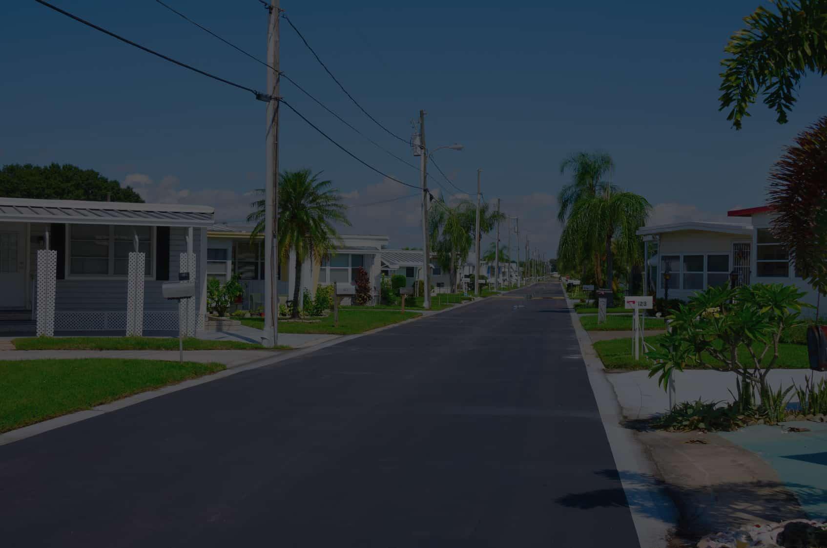 Florida Mobile Home Park Street View - Title Management Services